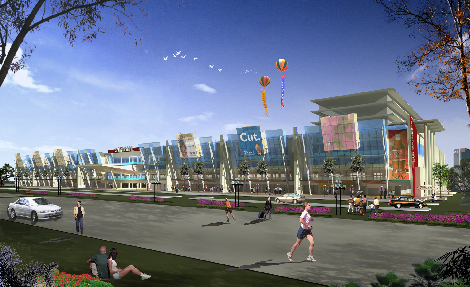 Proposed Shopping Mall Architectural Design