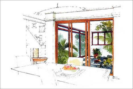 Interior Design Poster Done On Illustrator