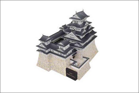 Canon 3D Papercraft Architecture himeji castle