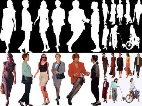raster image female photoshop