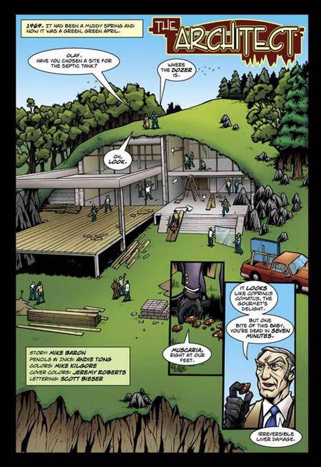 The Architect Comic