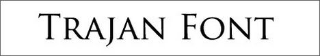 Stylus BT Font - Architectural Font trajan