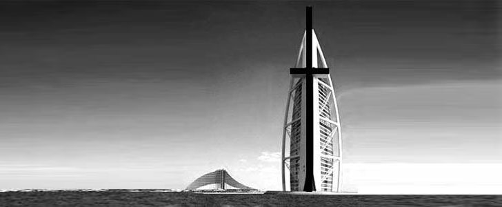 Burj al Arab - World's Largest Christian Cross