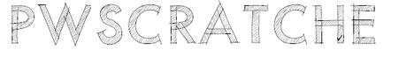 scratch font architect -tipografías para arquitectos