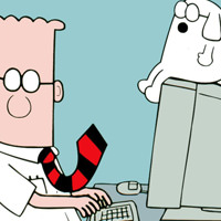Dilbert – Can He Lead A Normal Live? No! He'll Be An Engineer