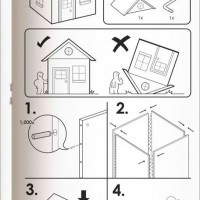 If Ikea Made Instructions For Houses