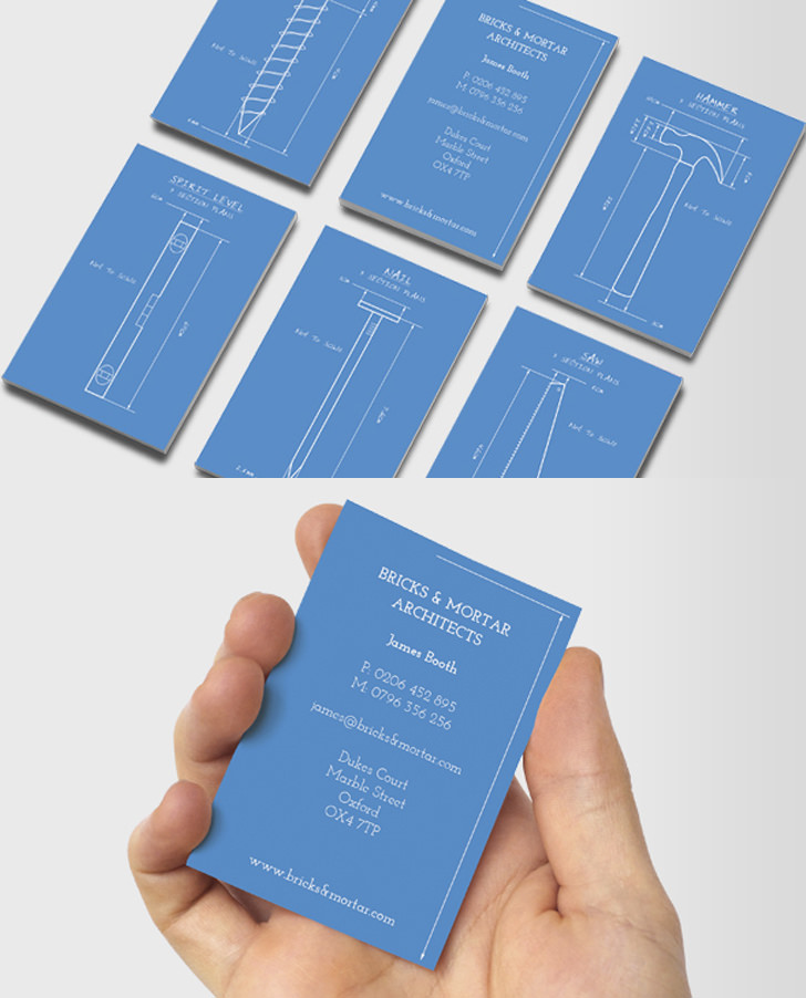 12 Creative Business Cards For Architects | miragestudio7 2018