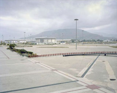 Abandoned Athens Olympic 2004 Stadium