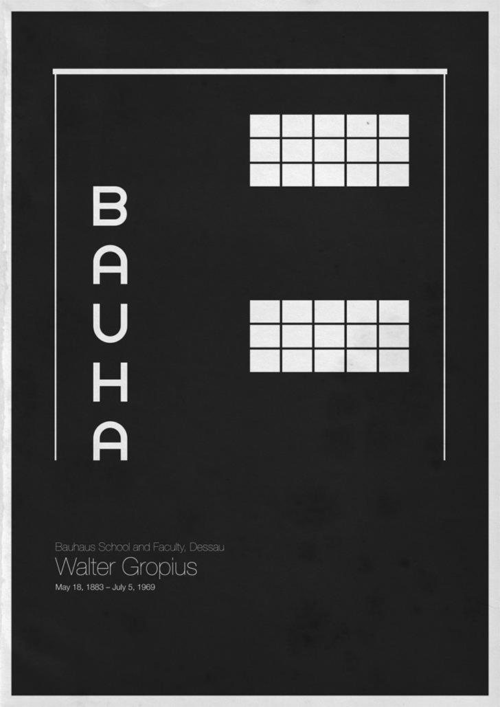 Walter Gropius Bauhaus School and Faculty Dessau Germany