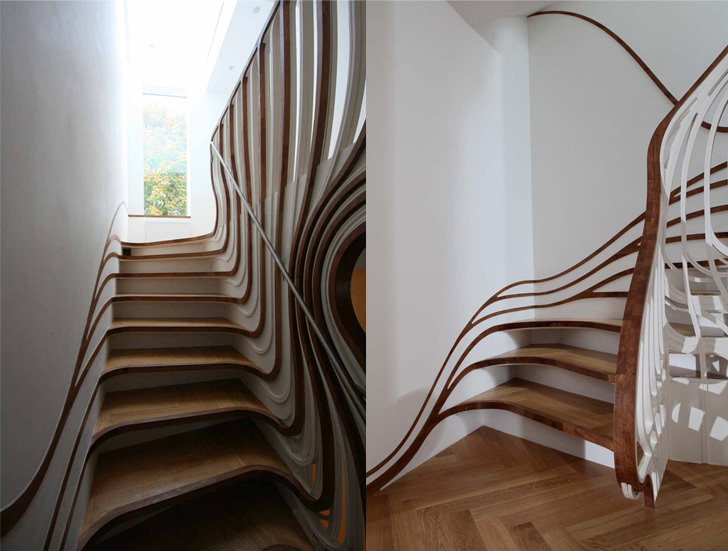 12 amazing and creative staircase design ideas miragestudio7 2018 - Ideal staircase ideas small interiors ...