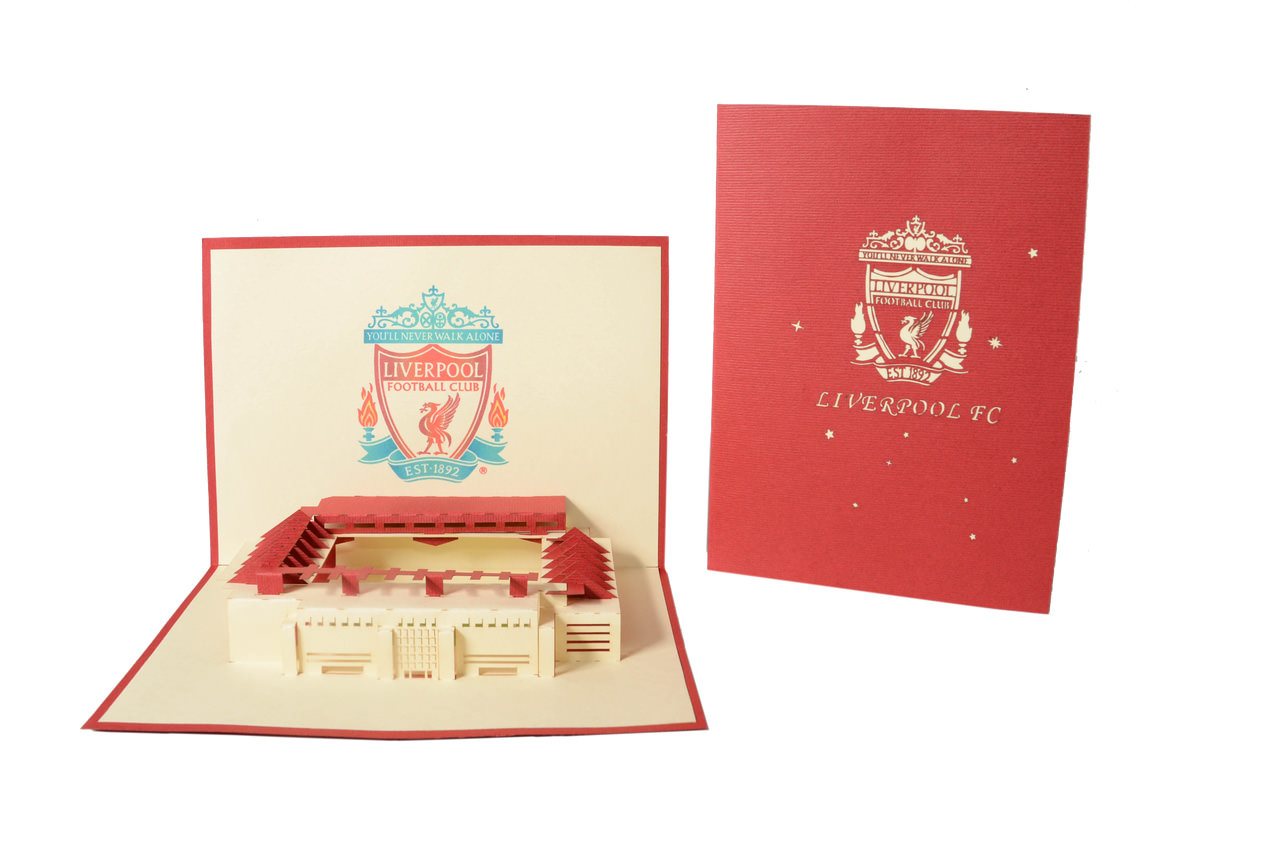 ...  3D Liverpool Stadium [ Link ]  liverpool stadium architecture gifts