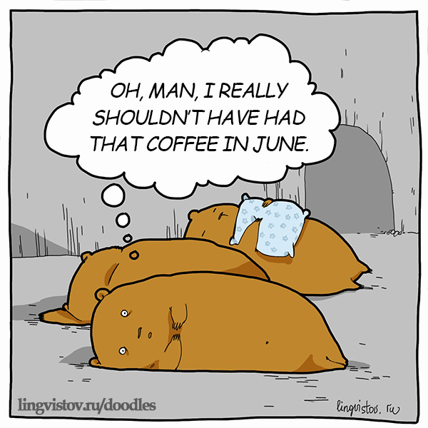 Oh, man, I really shouldn't have had that coffee in June. Funny Doodles on Coffee Sleeping Working Life instagram pinterest twitter facebook architecture architect