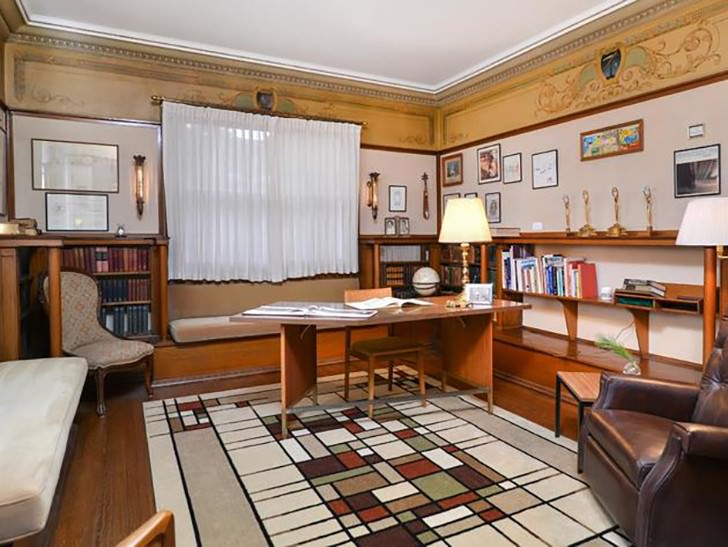 frank lloyd-wright home office Work Spaces Of Creative And Successful People
