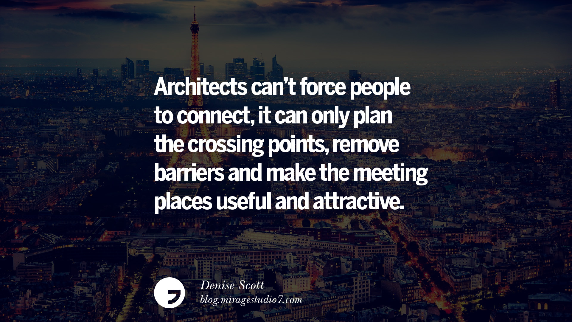 Landscape architect quotes quotesgram for Architecture quotes