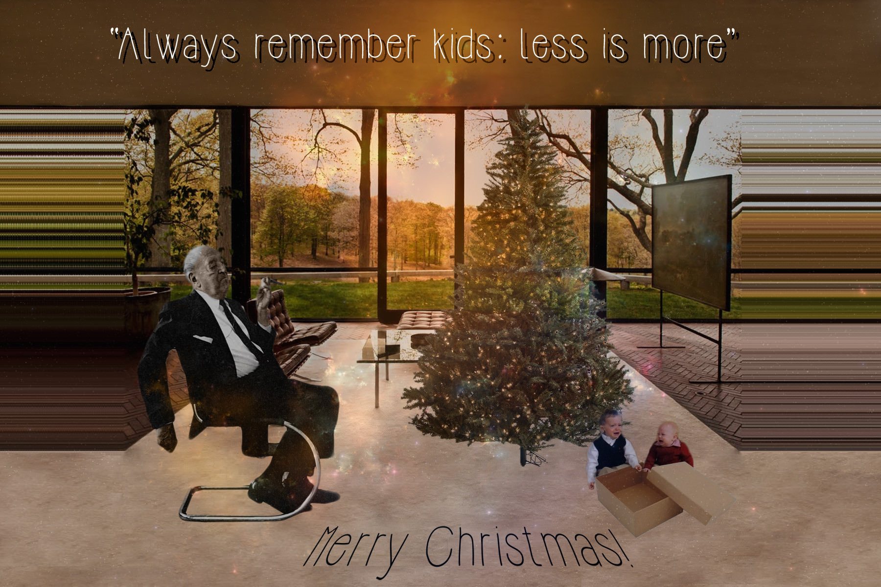 funny office picture ideas - 12 Creative Christmas Card Ideas for Architects